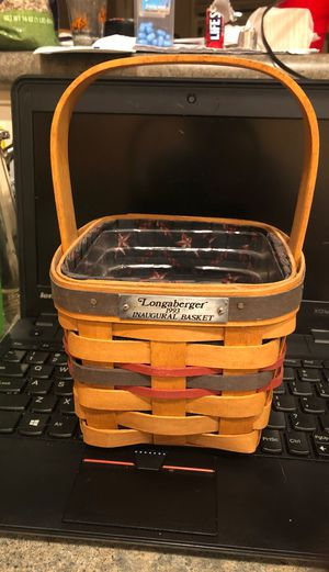 Longaberger 1993 Inaugural Basket for Sale in Laveen Village, AZ