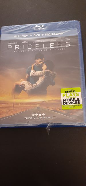 PRICELESS (Blu-Ray + DVD + Digital) NEW! for Sale in Lewisville, TX