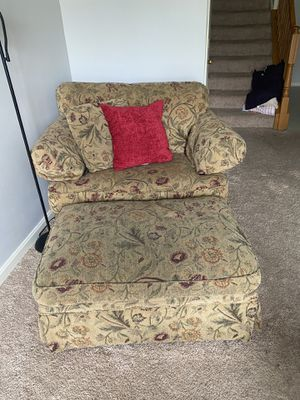 Wolf Furniture Chair and Ottoman for Sale in Frederick, MD