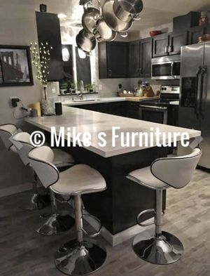 Brand new 4 white stools for Sale in Orlando, FL