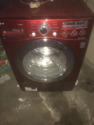 Red LG washer and dryer. for Sale in Pittsburgh, PA