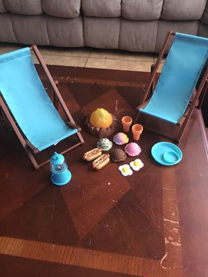 American girl doll camping set for Sale in Las Vegas, NV