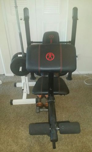 Weight bench with weight stand for Sale in Coconut Creek, FL