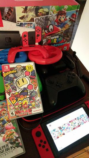 Nintendo switch Mario Edition SET for Sale in Orlando, FL