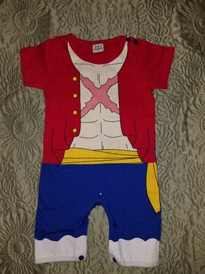 Luffy baby romper 3-6 months for Sale in Santa Ana, CA
