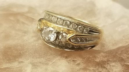 14kt Gold 1/4 Quarter Karat Diamond Wedding Ring for Sale in Manchester,  MO