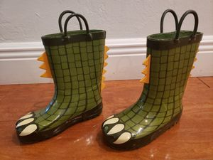 Dinosaur Kids Galoshes/ Rain boots for Sale in Hollywood, FL