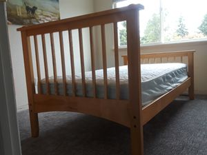 Twin bed frame and Sealy Mattress for Sale in University Place, WA