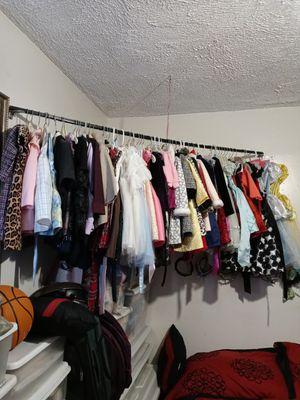 A rack of kids clothing for Sale in Waterbury, CT