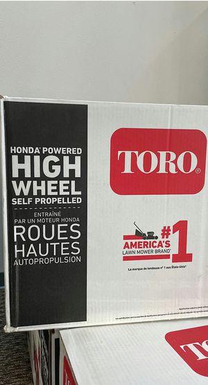 22 in. Honda High Wheel Variable Speed Gas Walk Behind Self Propelled Lawn Mower Brand New for Sale in Arlington, TX