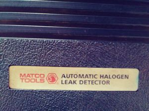 Matco Automatic Halogen Leak Detector... for Sale in Hamburg, NJ