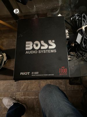 Boss audio systems for Sale in Riverside, CA