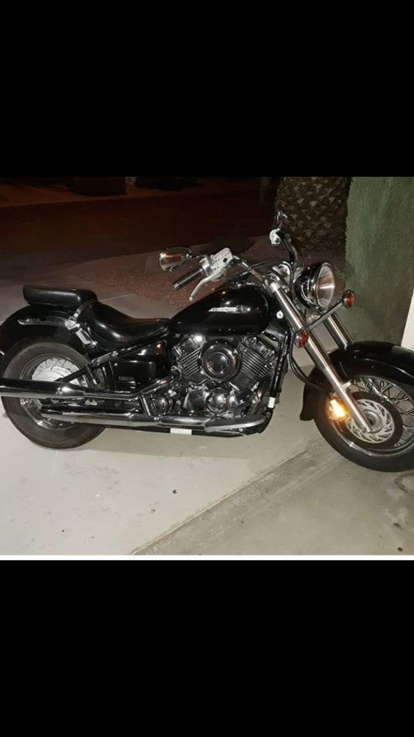 2003 Yamaha XVS650 Motorcycle