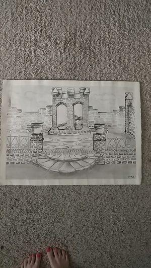 Original artwork! Pen and ink drawing, large for Sale in Manassas, VA