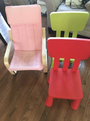 Kids chairs for Sale in Alexandria, VA