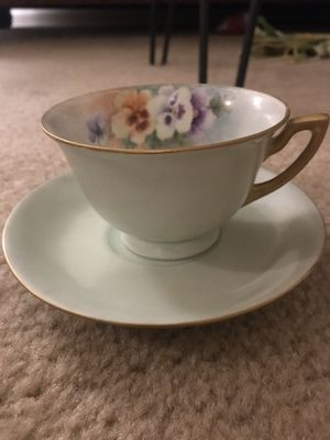 Antique China Teacup and Saucer for Sale in Nashville, TN