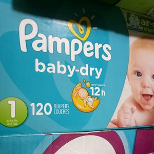Pampers Size 1 for Sale in Commerce, CA