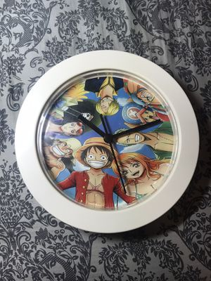Anime One Piece Straw Hat Pirates Clock for Sale in Pittsburgh, PA