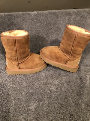 Toddler girls UGG boots for Sale in Delta, OH