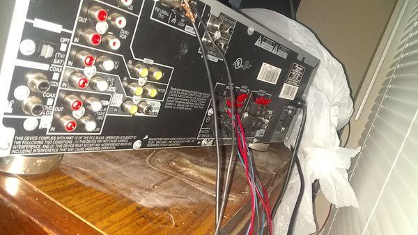 pioneer audio/video multi channel receiver model VSX-D414