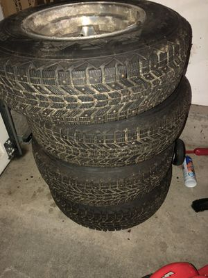 Studded snow tires for Sale in Bremerton, WA