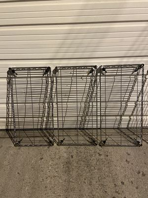 METAL SHELVES METRO for Sale in Lincolnwood, IL