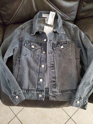 American apparel denim jacket for Sale in Bell Gardens, CA