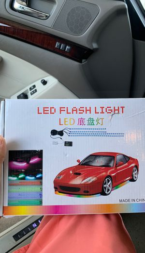 Underglow lights for car. for Sale in Houston, TX