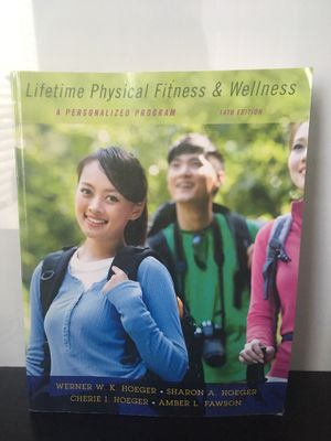 Lifetime physical fitness & wellness textbook for Sale in Paramount, CA