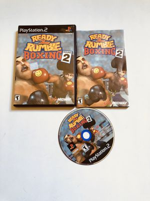 Ready 2 rumble boxing round 2 PlayStation 2 Ps2 for Sale in Long Beach, CA