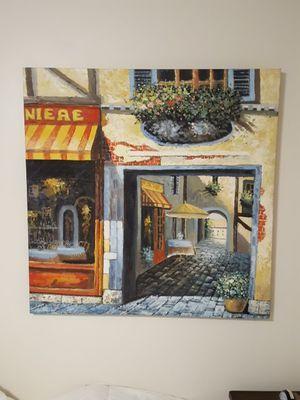 "Oversize 40""x40"" canvas picture for Sale in Modesto, CA"