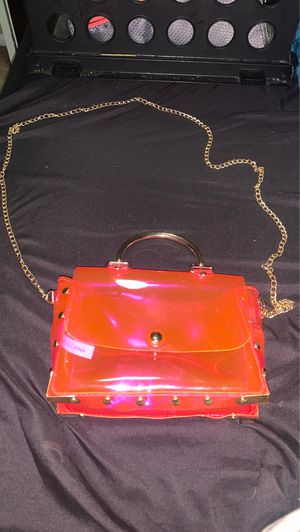 Neon pink off the shoulder bag forever 21 for Sale in Thornton, CO