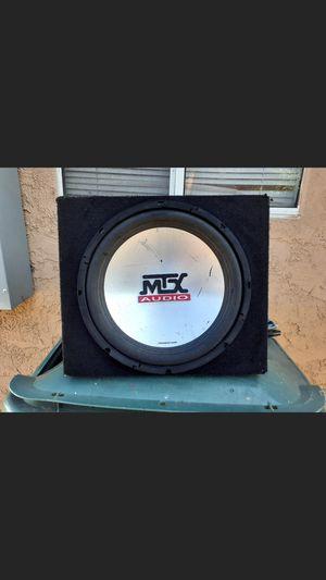 ".12"" MTX 4500 4 ohms cajon sellado... $50 for Sale in Hawthorne, CA"