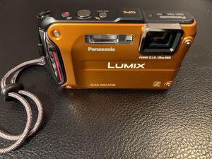 Panasonic LUMIX DMC-TS4/DMC-FT4 12.1MP Digital Camera - Orange for Sale in Norfolk, VA