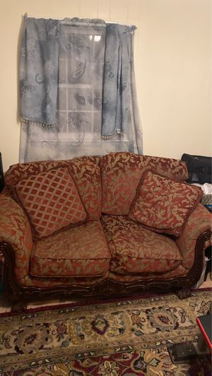 Couch set with carpet for Sale in Wendell, NC