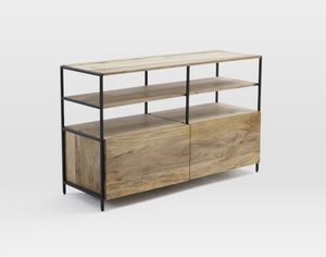 """West Elm Industrial Modular Media Console (49"""") for Sale in Sierra Madre, CA"""