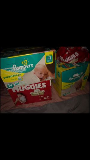 Pamper diapers newborn for Sale in Houston, TX