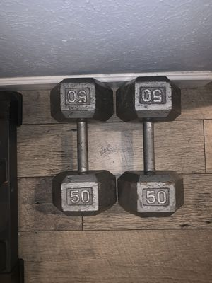 Dumbbells, weights, pesas, gym equipment for Sale in Dallas, TX