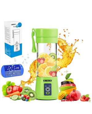 IT014 OBERLY Smoothie Juicer Cup - Six Blades in 3D (GREEN) for Sale in San Francisco, CA