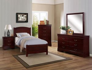 🌲Crown Mark [HOT DEAL] Helene Cherry Youth Bedroom Set for Sale in Berwyn Heights, MD