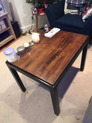 Brown Wooden Coffee Table w/ Drawer for Sale in Boston, MA