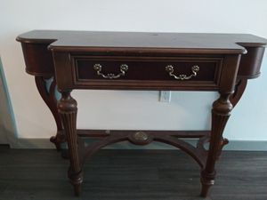 Console table solid wood for Sale in Sammamish, WA