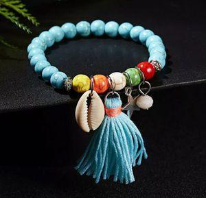 Turquoise Beaded Charmed Bracelet for Sale in Atlanta, GA