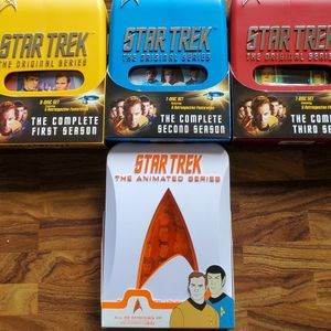 Original STAR TREK First 3 Seasons And Bouns Animated Series for Sale in Seattle, WA