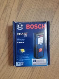Bosch Laser Blaze One Glm 165-10 New Seal In Box for Sale in Scarsdale,  NY