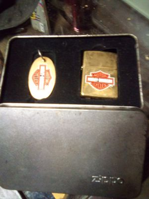 Harley-Davidson Zippo commemorative lighter and keychain for Sale in Fort Worth, TX