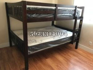 Full/full Expreso bunkbed w Mattress Included for Sale in Madera, CA