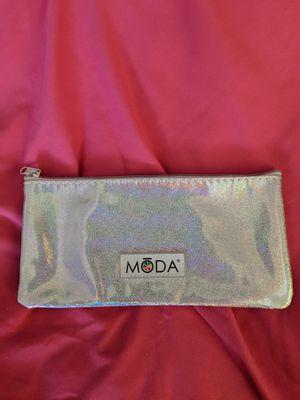 MODA Makeup & Makeup Brush Bag Holographic Glitter for Sale in Manassas, VA