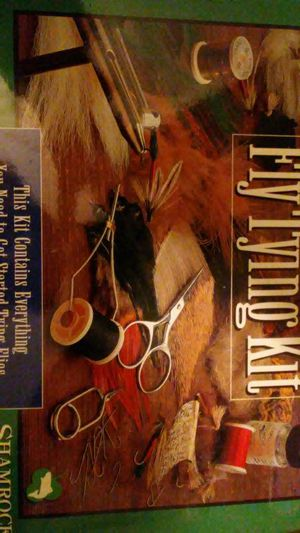 Fly tying kit brand new $35 unopened for Sale in Arvada, CO