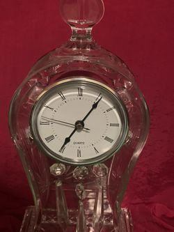 Czech Republic Crystal Clock for Sale in San Diego,  CA
